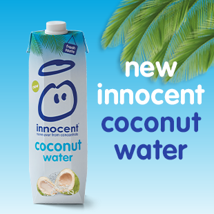 food: innocent coconutwater