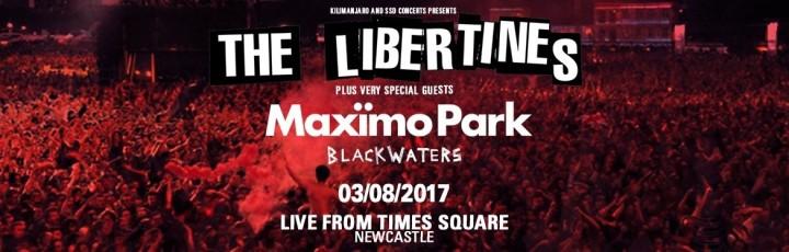 music: blackwaters + the libertines,newcastle