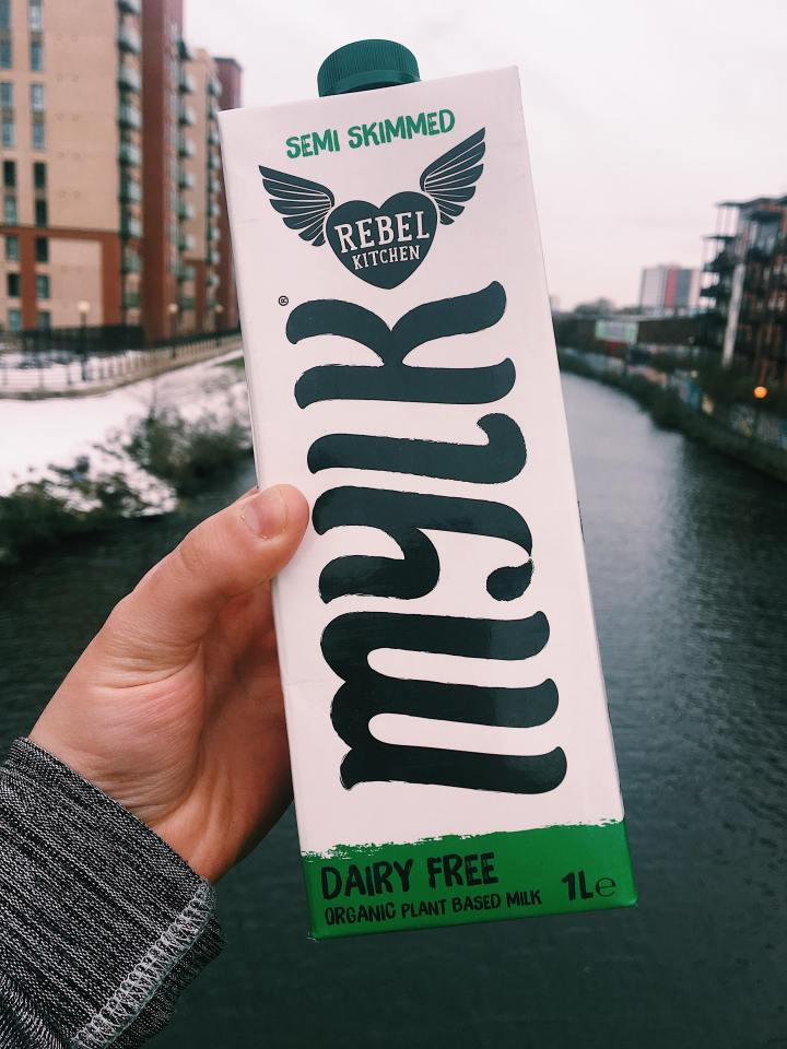 Rebel Kitchen + Alpro – cows milk alternatives