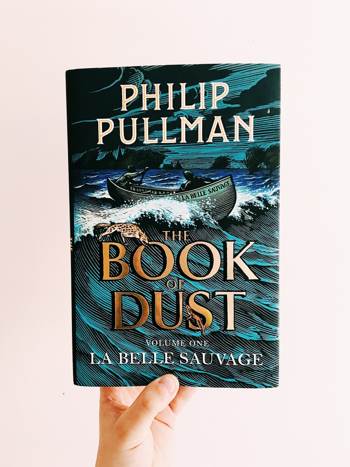 book club: the book of dust volume I, la belle sauvage by philip pullman