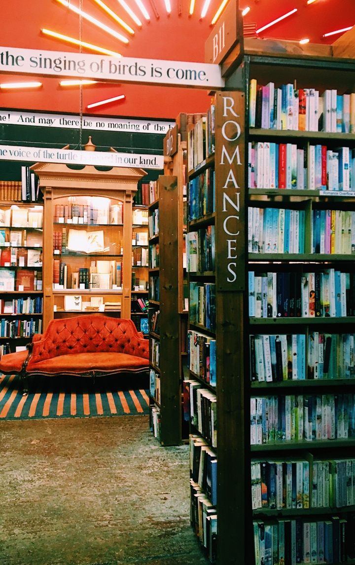 chomp on down: barter books, alnwick