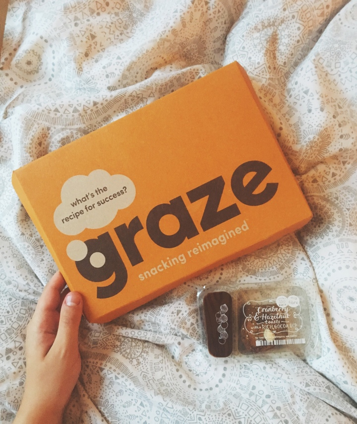 food: snack heaven with Graze