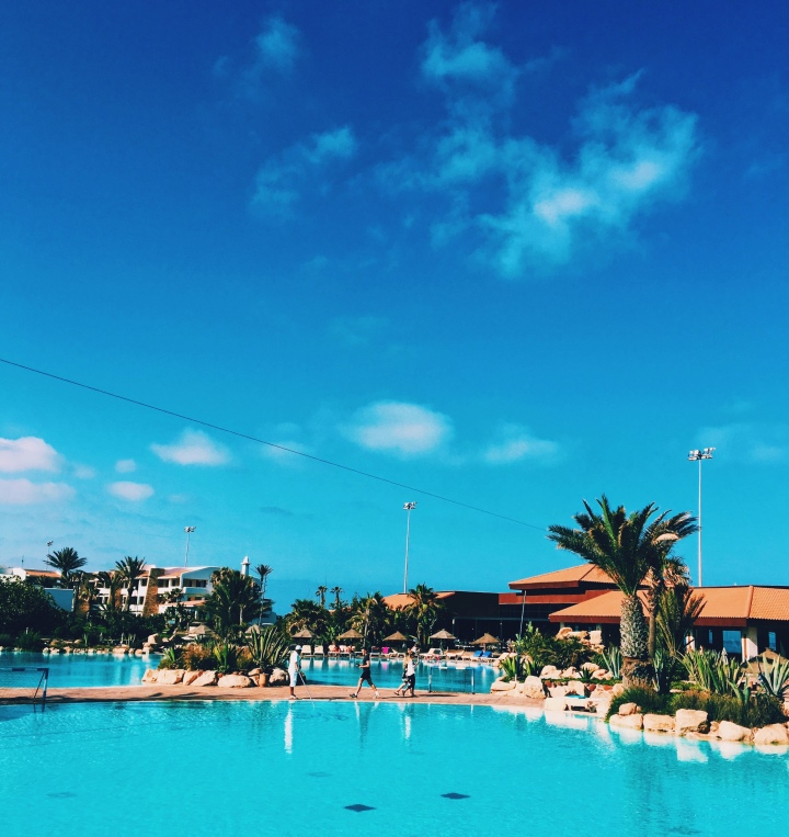 checking in: riu tikdia dunas, morocco