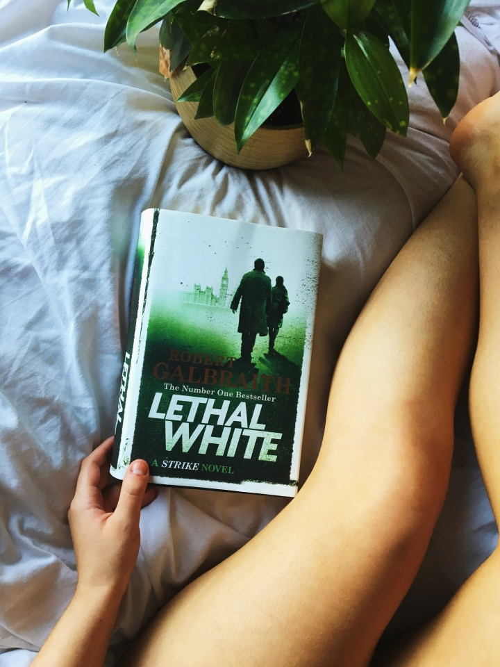 book club: lethal white by robert galbraith