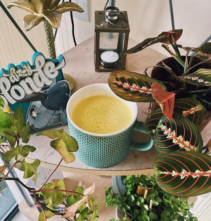 Make This: Nutty Golden Turmeric Latte