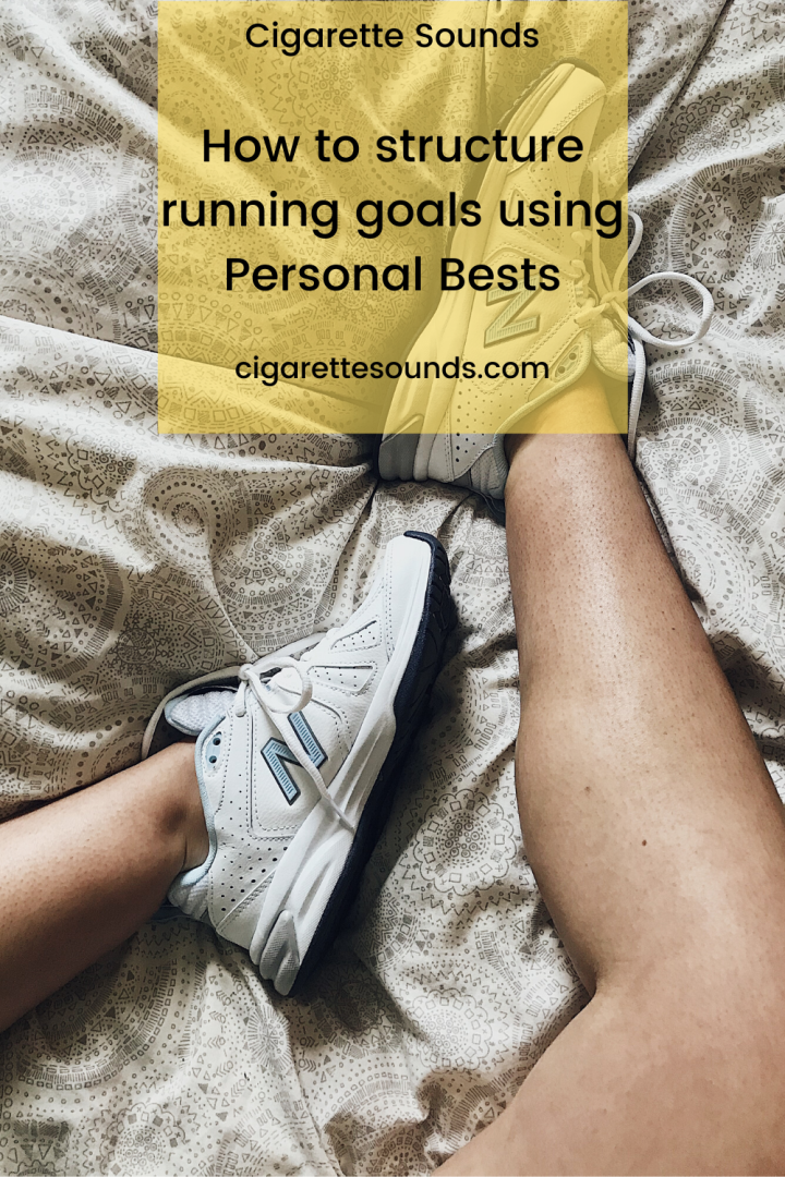 How to Structure Running Goals Using Personal Bests